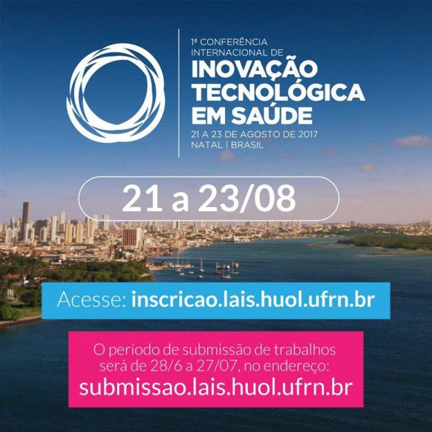 Tecnologia e saúde são temas de Conferência Internacional
