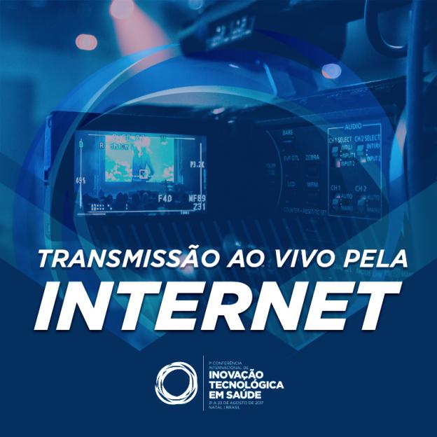 Conferência terá transmissão ao vivo pelo facebook