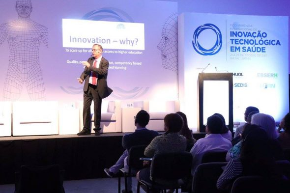 """""""Inovar é mudar as metodologias"""", afirma secretário geral do ICDE"""