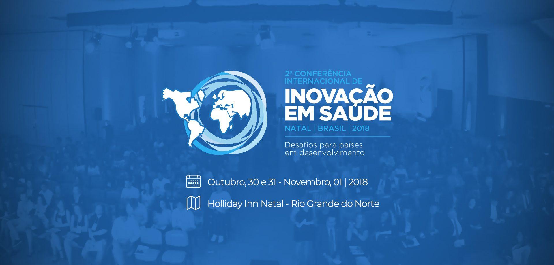 2ª Conferência Internacional de Inovação Tecnológica em Saúde