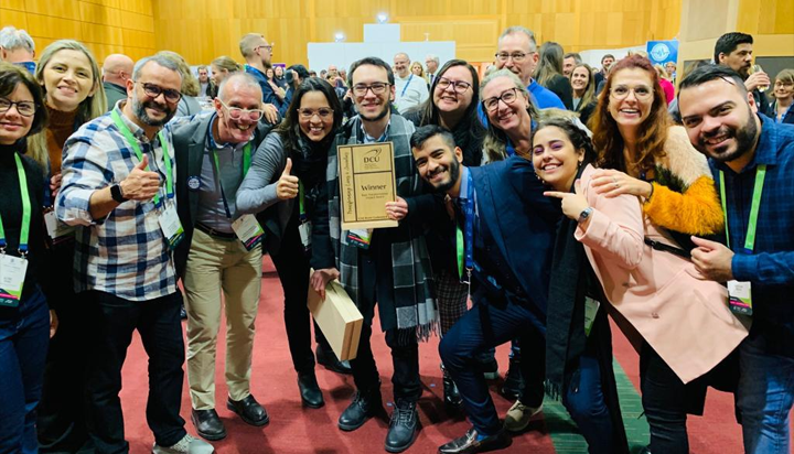 Artigo de pesquisadores do LAIS é premiado em congresso na Irlanda
