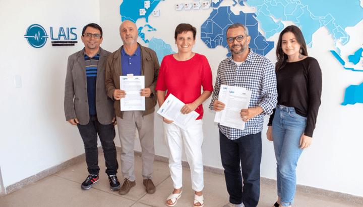 LAIS firma acordo de cooperação técnico-científica com a Universidade Autônoma de Barcelona