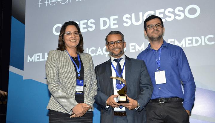 Trabalho produzido pelo LAIS na área de Telemedicina é premiado em São Paulo