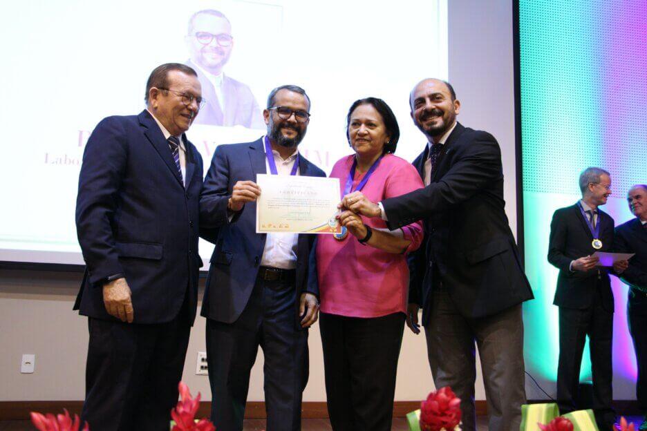 Coordenador do LAIS recebe medalha do Mérito Potiguar do Desenvolvimento Econômico
