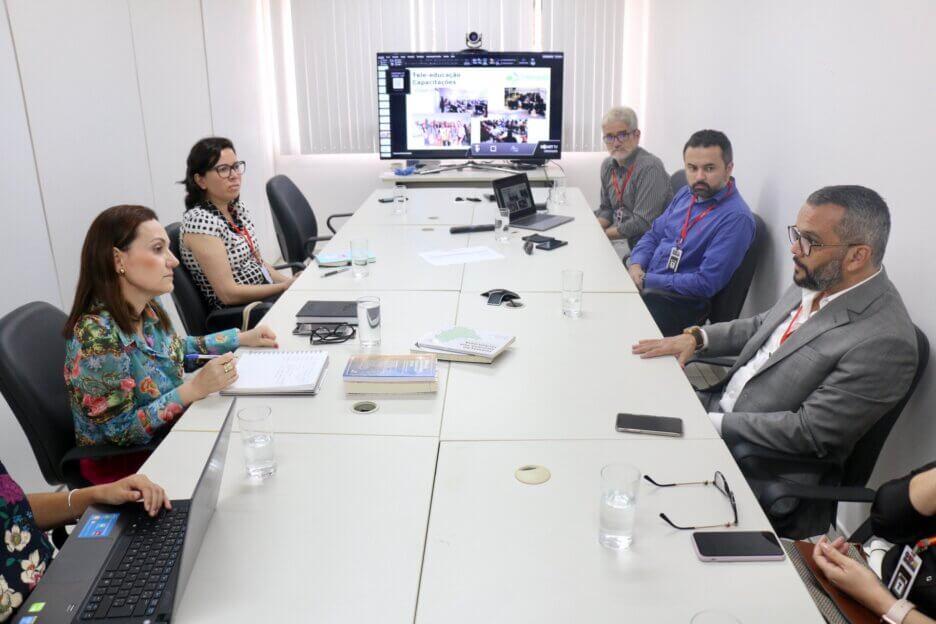 LAIS e MPRN discutem parceria para implementação do sistema Telessaúde em municípios do RN