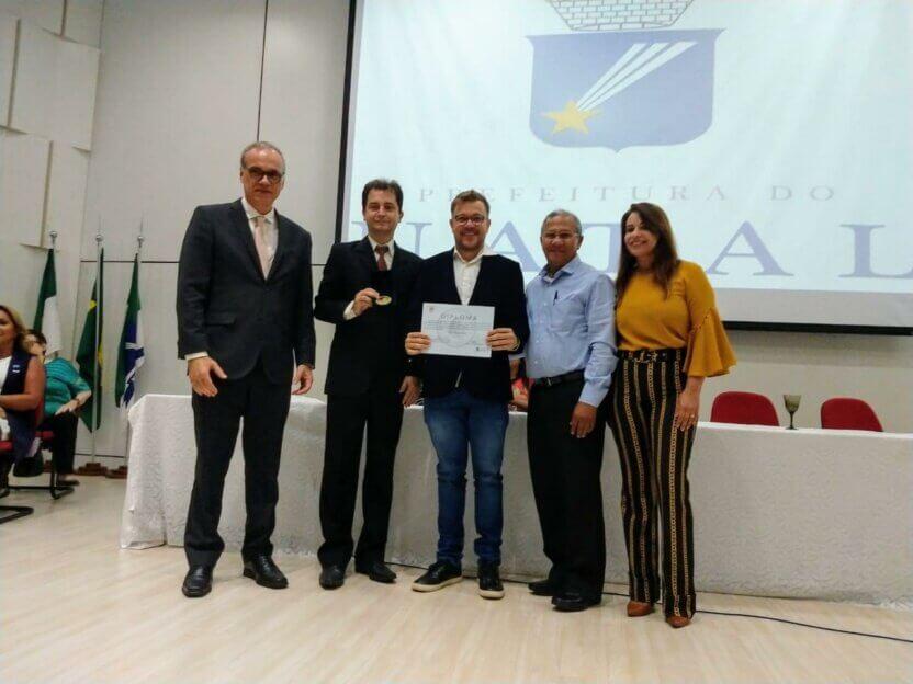Professor e pesquisador do LAIS recebe Medalha Padre Sabino Gentille por trabalho com idosos na UFRN