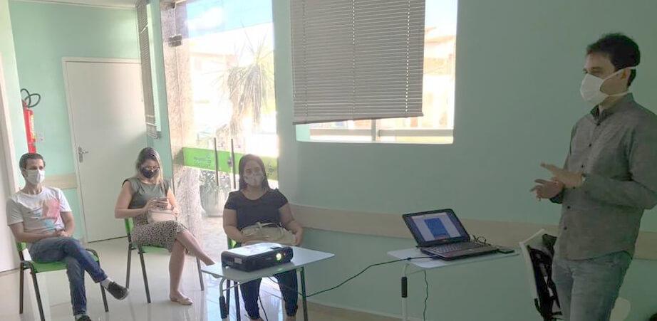 Profissionais de saúde de Mossoró participam de capacitação sobre uso do sistema RegulaRN