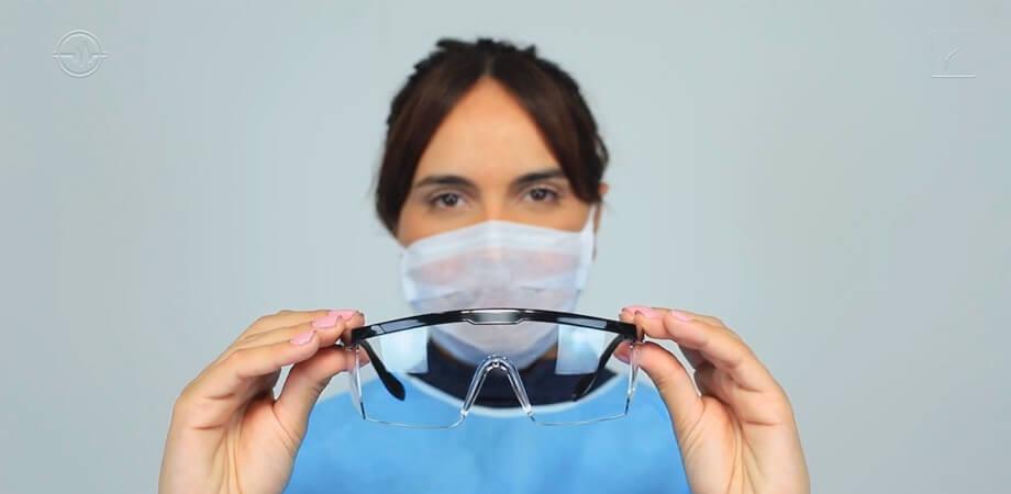 Curso capacita profissionais de saúde para uso de EPIs no manejo da Covid-19