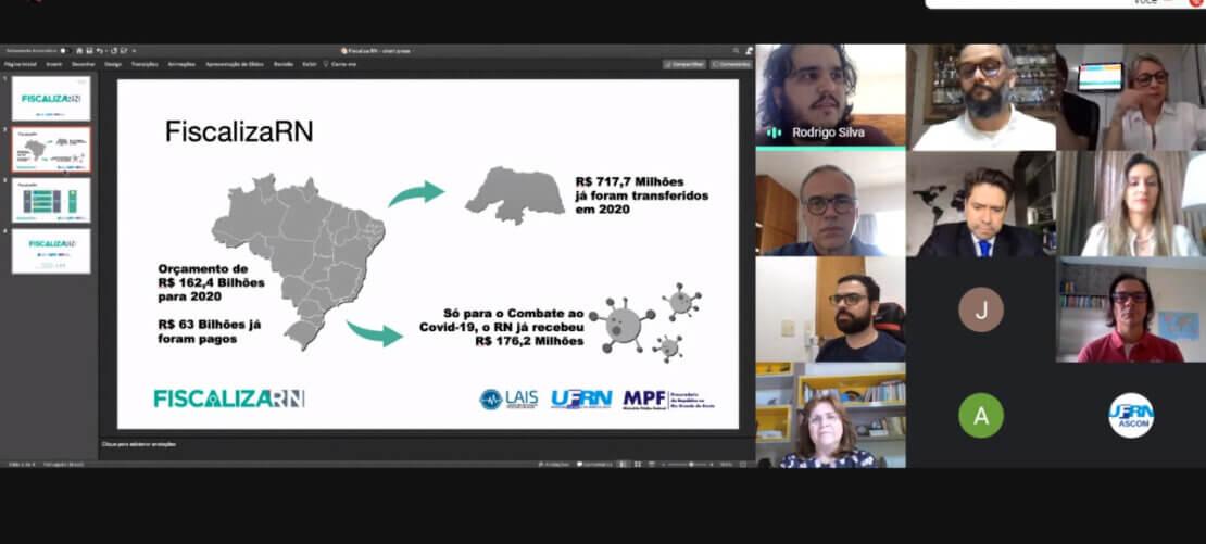 LAIS/UFRN e MPF/RN firmam convênio para uso de inteligência artificial aplicada ao SUS