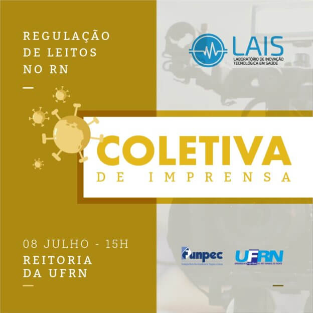 LAIS realiza coletiva de imprensa nesta segunda-feira (13)