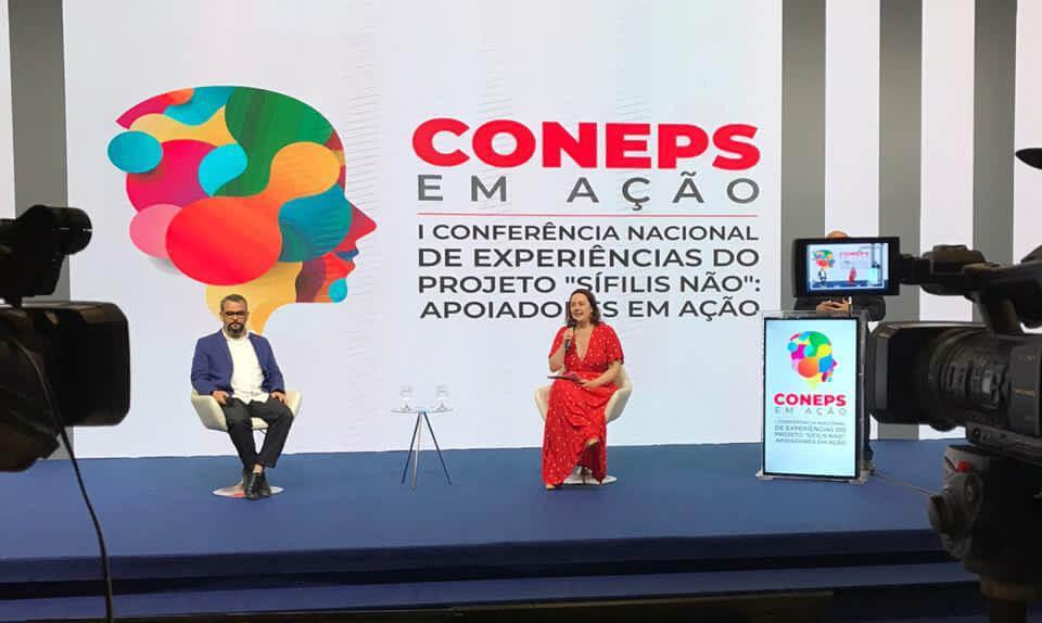 Primeiro dia da CONEPS debate importância do apoio nos territórios e reúne relatos de experiência