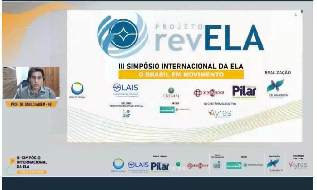 LAIS é destaque em simpósio internacional sobre Esclerose Lateral Amiotrófica