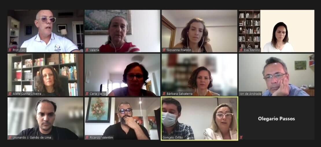 Pesquisadores de Brasil e Portugal compartilham experiências vivenciadas durante a pandemia