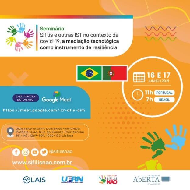 Seminário sobre sífilis e outras IST no contexto da covid-19 reúne pesquisadores de Brasil e Portugal
