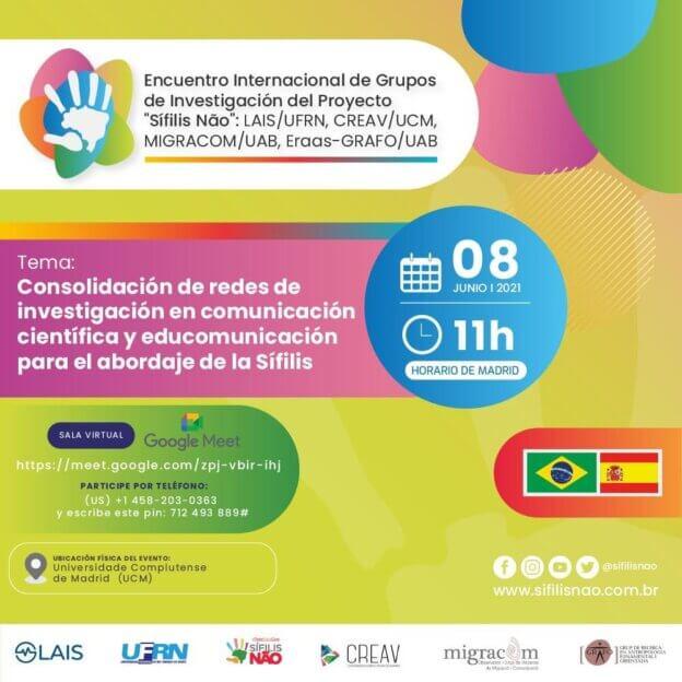 Pesquisadores do LAIS e da Universidade Complutense participam de encontro internacional sobre comunicação em saúde