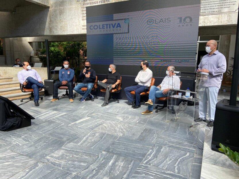 LAIS participa de coletiva de apresentação da Meia Maratona do Sol; organizadores apresentam protocolos de biossegurança para a prova