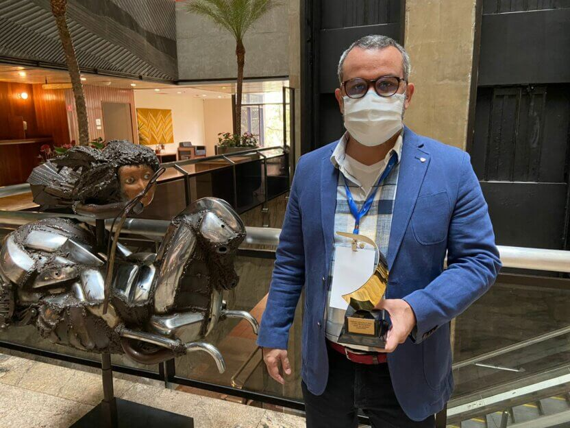"""LAIS recebe Prêmio Health-IT 2021 na categoria """"Cases de sucesso"""""""