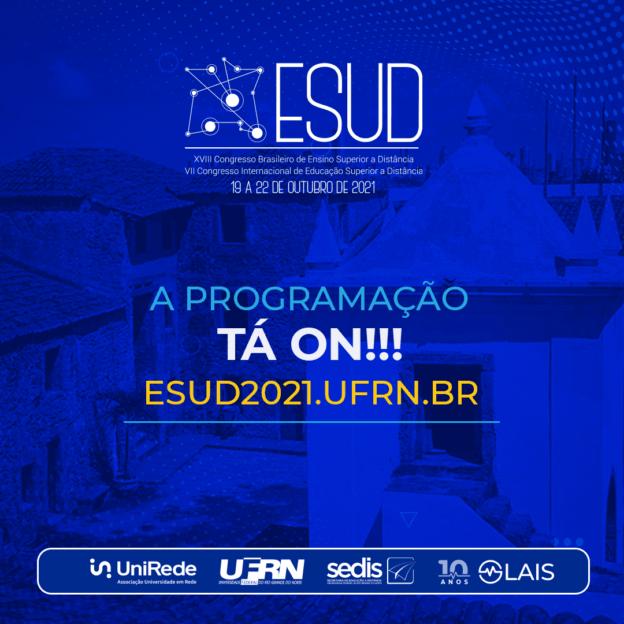 Programação do ESUD 2021 contará com pesquisadores de várias partes do mundo